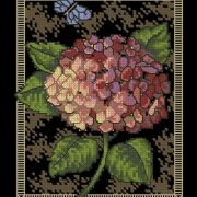 Dimensions 35072 Hydrangea on Toile